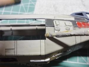 X-ウイング 製作 53