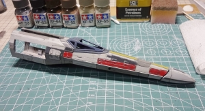 X-ウイング 製作 55
