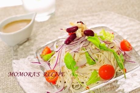 冷製素麺棒棒鶏 (3)