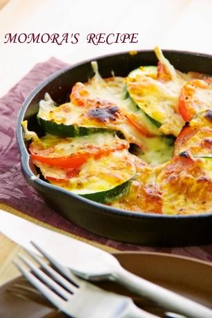 グリルでカレーチーズ焼き (1)