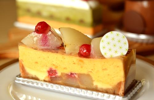 【ケーキ】アステリスク「ポワール・ア・ラ・カネル」