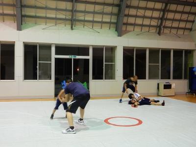 レスリング練習 014