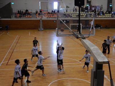 バスケ練習試合 016
