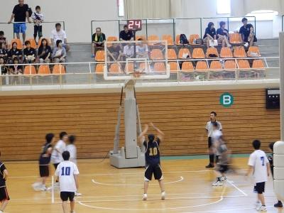 バスケ練習試合 015