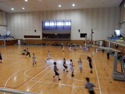 バスケ練習試合 013