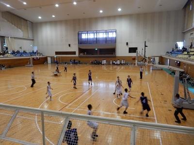 バスケ練習試合 010