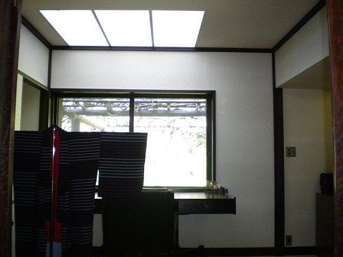 吉屋信子邸・書斎1