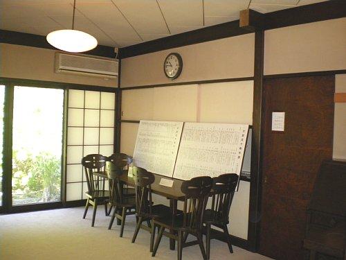 吉屋信子邸・食堂