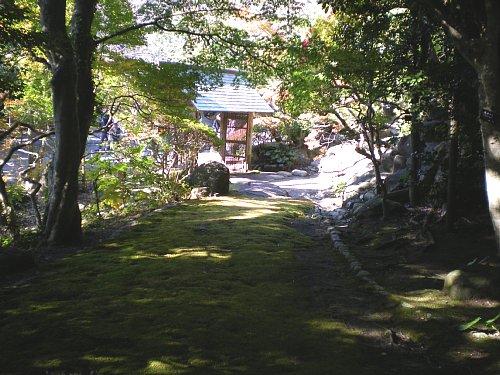 山本条太郎別邸・アプローチ