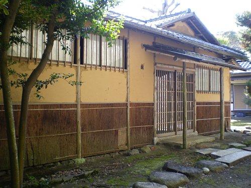 山本条太郎別邸・茶室棟玄関