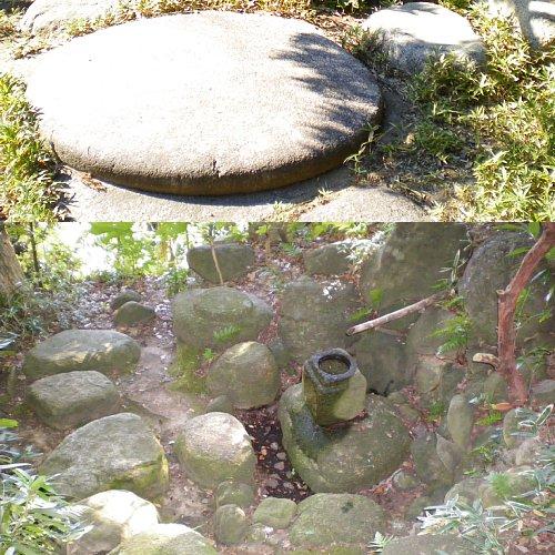 山本条太郎別邸・庭石