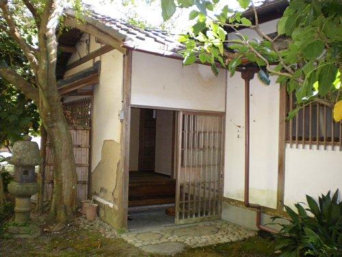 山本条太郎別邸・内玄関