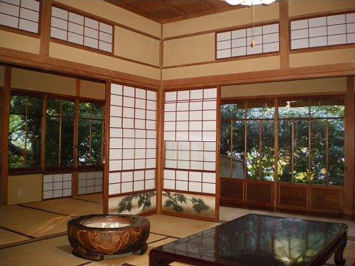 山本条太郎別邸・居間1