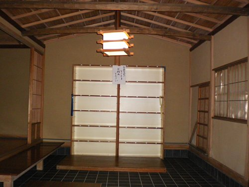 山本条太郎別邸・玄関2