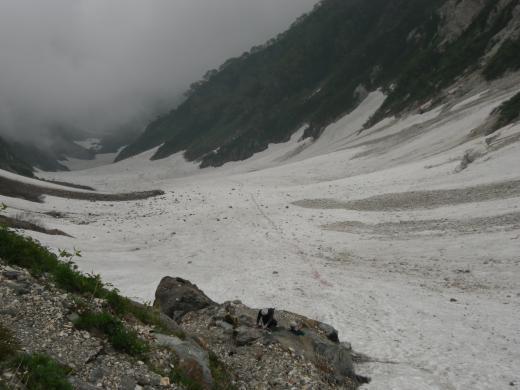 大雪渓ベニガラ