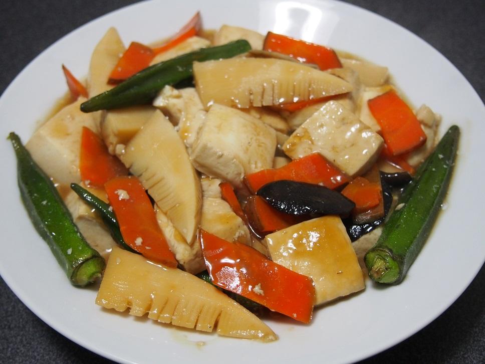 豆腐のオイスターソース煮込み1-1