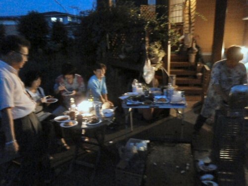 11 500 20150711 #99-YEA BBQ 03BBQ08会食