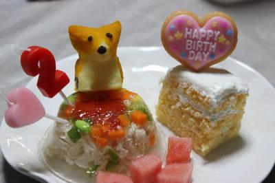 ゴージャス萌香たんケーキ