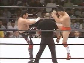 最初は中野のロー、田村もカット