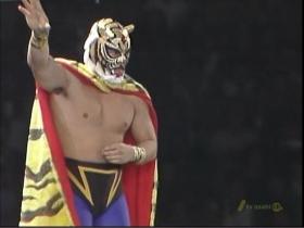 タイガーマスク入場
