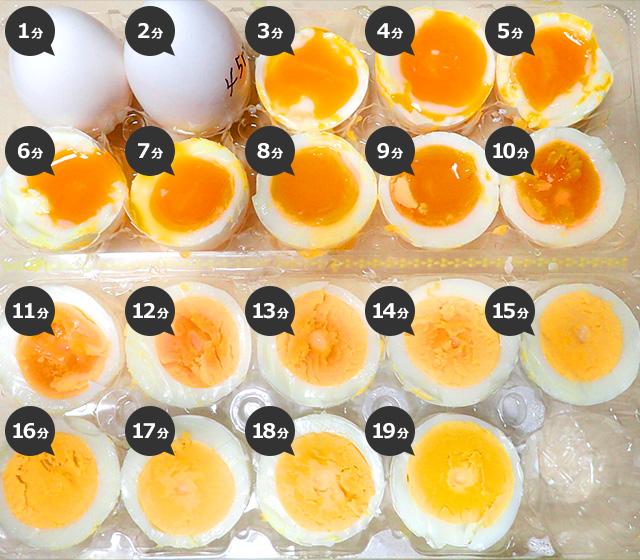 ゆで卵は半熟が至高、異論は認めない