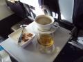 デザートとコーヒーとコニャックトルコ航空
