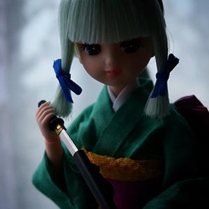 懐刀を抜くいち姫リカちゃん