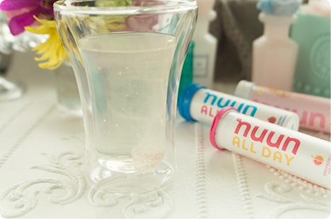 Nuun Hydration のイオン飲料