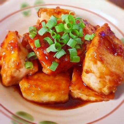 簡単豆腐ステーキ