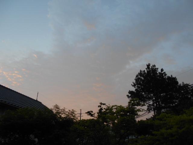 夜明けの空①