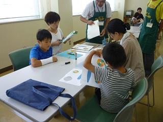 夏休み子供教室B