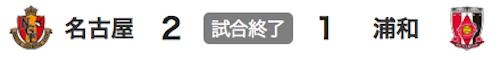 725名古屋2-1浦和