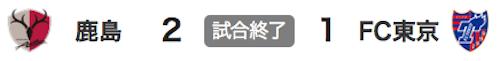 725鹿島2-1東京
