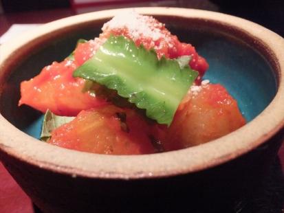 冬瓜のトマト煮