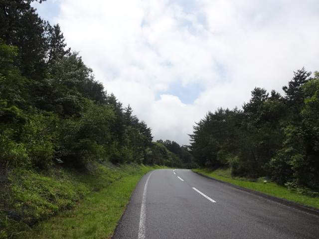 飯田高原雨宿り後再出発