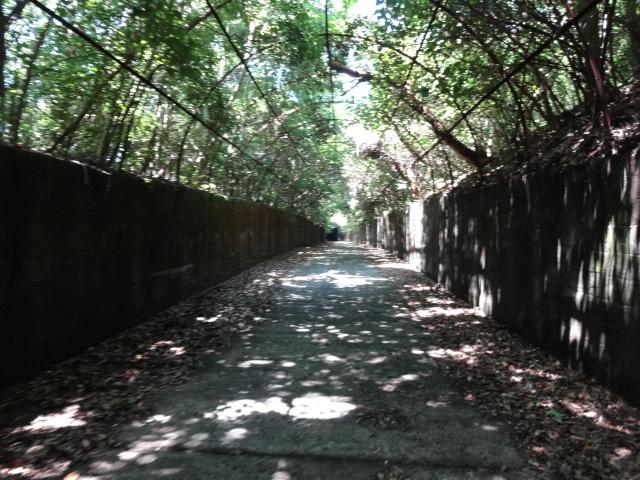 トンネル間