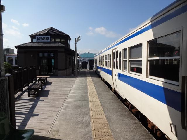 枕崎駅出発