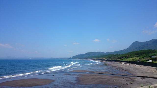 綺麗な海岸線
