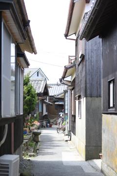 姫島のまちなみ