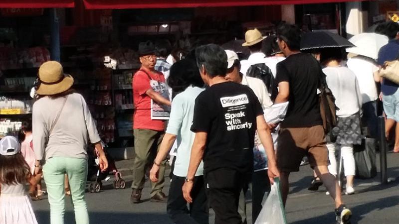 戸田さん、帽子が決まってます