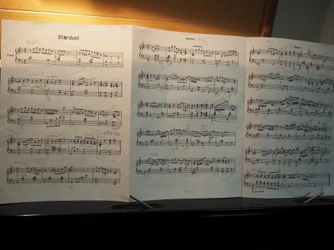 h26,12ピアノの発表会楽譜