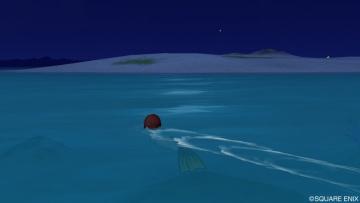 泳いでいたら終了・・・