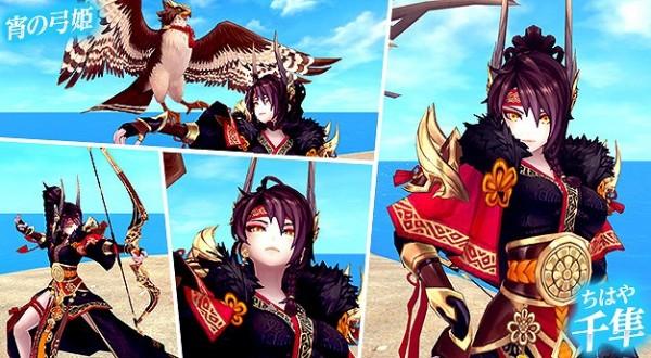 基本無料アニメチックファンタジーMMORPG『幻想神域–Cross to Fate-』 一騎当千のクールな幻神「千隼」新登場