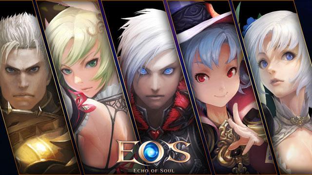 基本プレイ無料のファンタジーMMORPG 『ECHO OF SOUL(エコーオブソウル)』