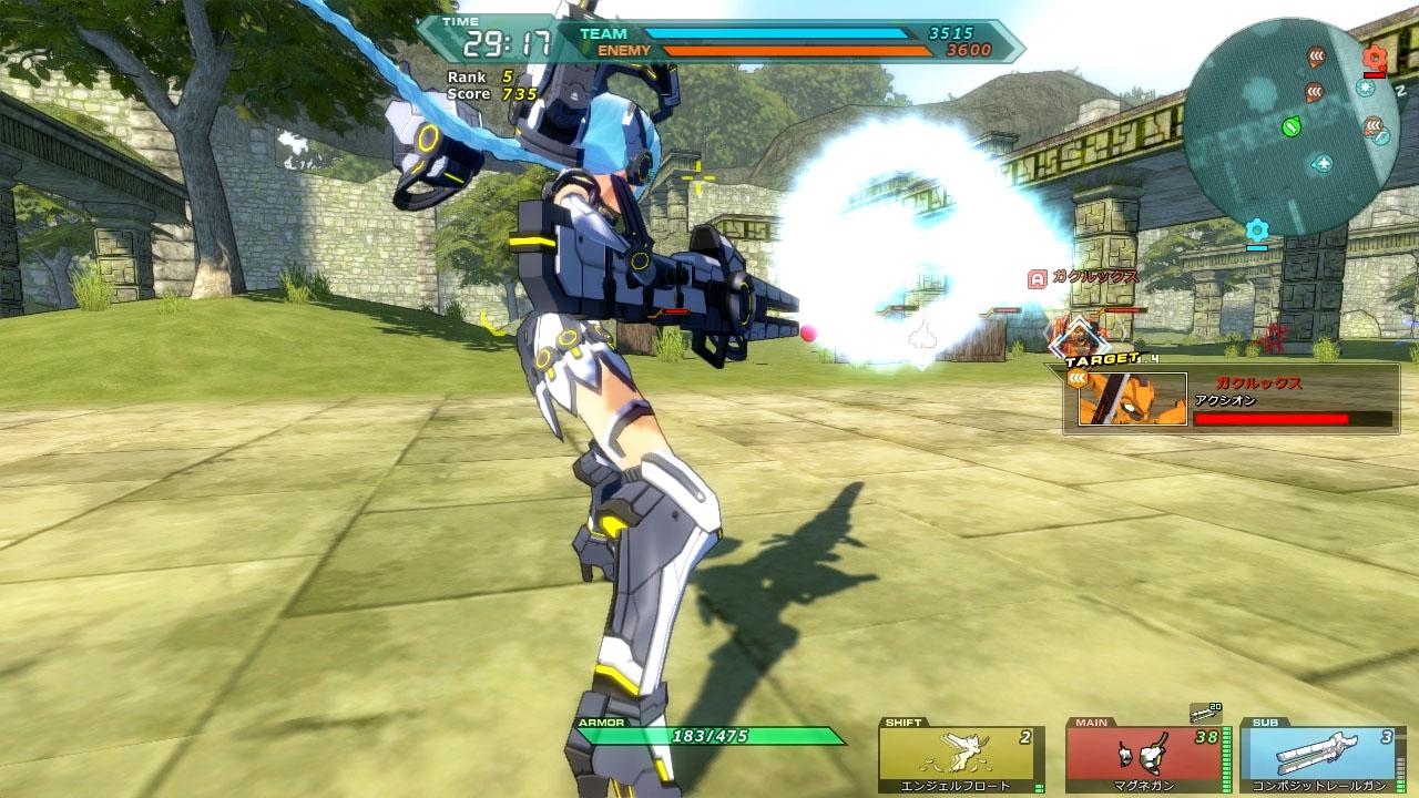 基本プレイ無料のMMOバトルシューティングオンラインゲーム 『コズミックブレイク2』