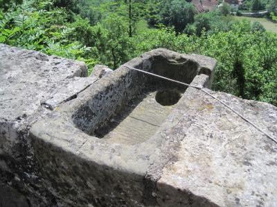 20150623 ローテンブルグの城壁に設置されたトイレ