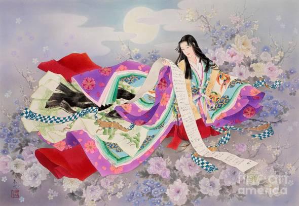 20150614 森田春代画「夢紫