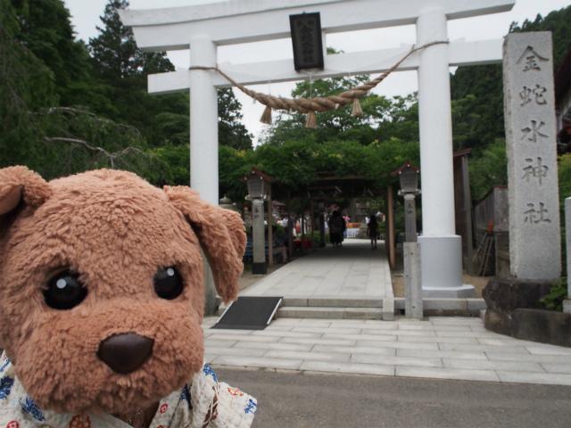 金蛇水神社に来たよ
