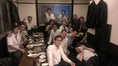 西日本統括部歓送迎会
