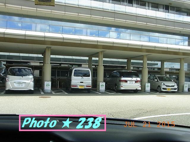 無策の駐車場
